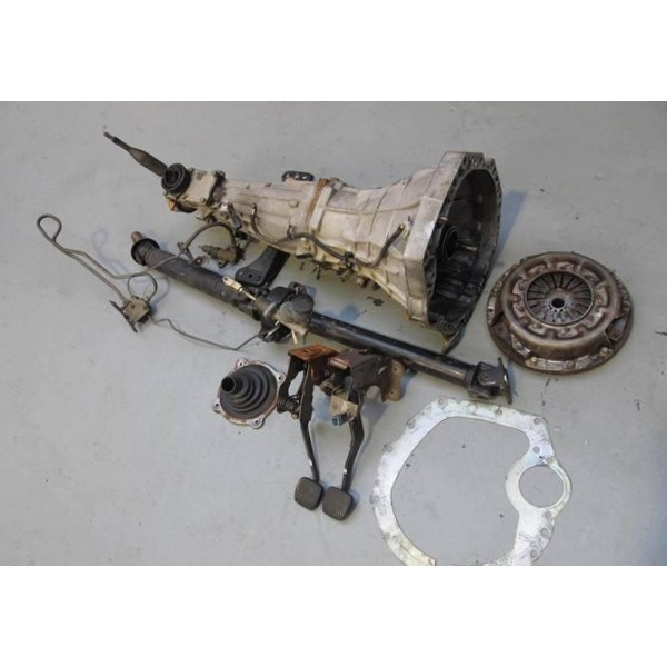 S14 SILVIA SR20DET MANUAL CONVERSION   Home   Gearbox & Differental